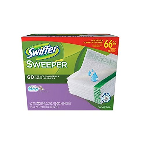 Swiffer Wet Jet Refills Febreze Lavender Vanilla & Comfort 60 ct. (Swiffer Sweeper Wet Jet Refills compare prices)