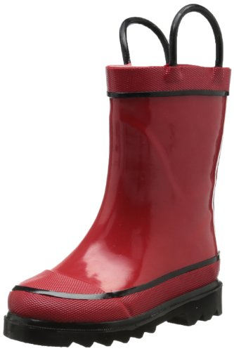 Western Chief Firechief 2 Navy Rain Boot (Toddler/Little Kid/Big Kid),Red,10 M Us Toddler front-1010002