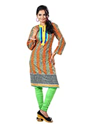 Arista Designer Ready To Wear Yellow Kurti Size - 38 (KR96)