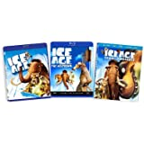 Ice Age Triple Pack (Ice Age / Ice Age: The Meltdown / Ice Age: Dawn of the Dinosaurs) [Blu-ray]