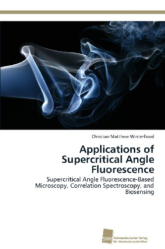 Applications Of Supercritical Angle Fluorescence: Supercritical Angle Fluorescence-Based Microscopy, Correlation Spectroscopy, And Biosensing