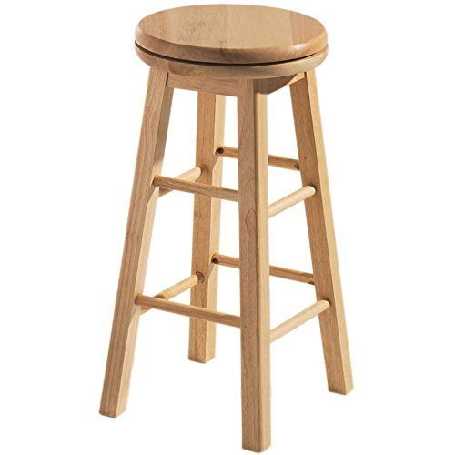 home-discountr-breakfast-bar-stool-wooden-revolving-kitchen