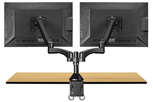 hafele dual monitor arm how to use