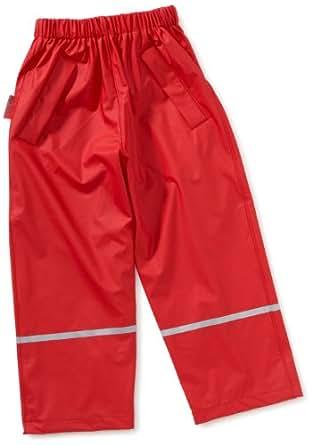 Playshoes Unisex - Kinder Hose 405423 Regenhose ohne Latz, Gr. 80, Rot (8 rot)
