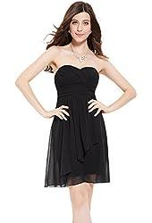 Ever Pretty Sweetheart Neckline Strapless Bridesmaids Dress 03540