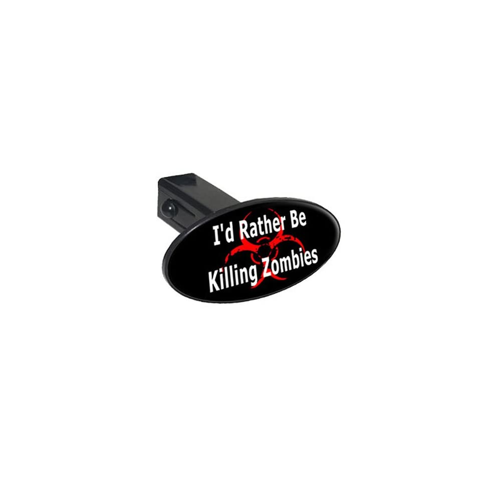 1.25 Fish Bones White On Black Oval Tow Trailer Hitch Cover Plug Insert 1 1//4 inch