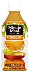 ミニッツメイド オレンジブレンド 350ml×24本