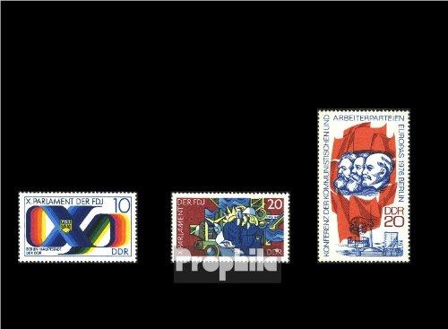 DDR 2133,2134,2146 (kompl.Ausgaben) postfrisch 1976 Sondermarken (Briefmarken für Sammler)