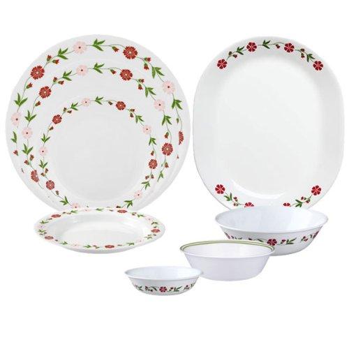 Corelle Livingware Spring Pink 76-pc Set