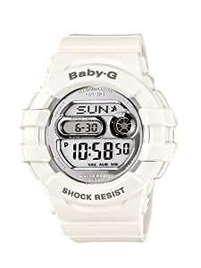 Casio - BGD-141-7ER - Baby-G - Montre Femme - Quartz Digital - Cadran Gris - Bracelet Résine Blanc