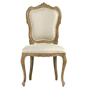 Com margaux french country carved shield back dining chair chairs