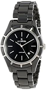 Le Chateau Women's 5869l_blk Classico Ceramic Watch