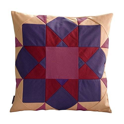 [Endlosen Horizont]handgemachte dekorative Kissen einzigartige Gitterkissen 48cm