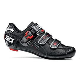 Sidi Genius 5 Pro Carbon Narrow Men's Road Cycling Shoes - Black