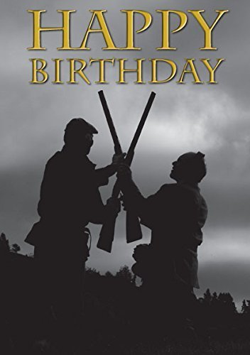 """Double Guns"" Game Shooting Birthday Card by Charles Sainsbury-Plaice"