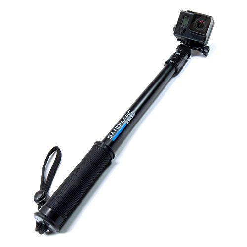 "SANDMARC® Pole - Black Edition: 17-40"" Waterproof Telescoping E"