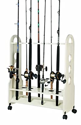 Organized Fishing Large Mobile Style Rolling Rack by Organized Fishing
