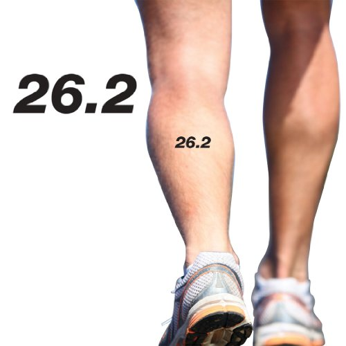 Running Tattoos 26.2 Marathon