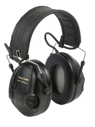 3M Peltor Tactical Sport Hearing Protector, MP3 Compatible (97451)