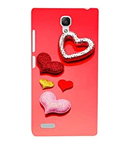 EPICCASE glittering palates Mobile Back Case Cover For Xiaomi Redmi Note 4G (Designer Case)