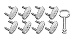 Reer 70959 - Protectores para enchufes