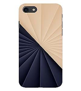 PrintVisa Modern Art Symmetrical Pattern 3D Hard Polycarbonate Designer Back Case Cover for Apple iPhone 7