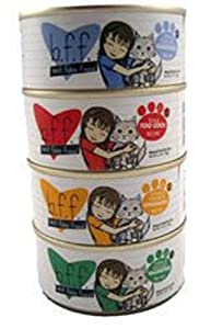 BFF Canned Cat Tuna Too Cool 5.5 oz Case 8