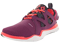 Reebok Kids Zcut Tr Fuchsia/Indigo/Cherry/Wht Training Shoe 4.5 Kids US
