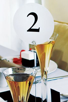 Round Table Number Cards - 1-12