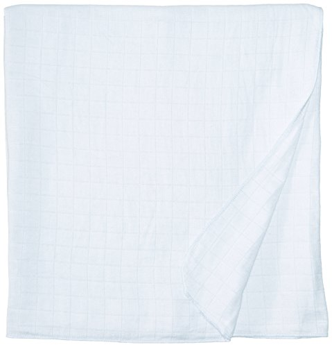 Under The Nile Muslin Swaddle Blanket, Blue - 1