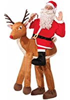 Forum Novelties Men's Santa Ride-A-Reindeer Adult Costume