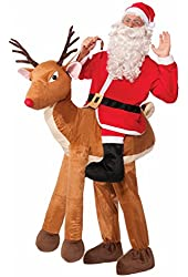 Forum Novelties Men's Santa Ride-A-Reindeer Adult Costume