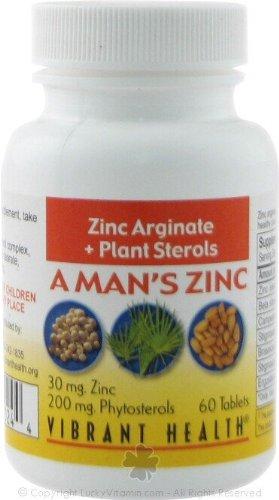 A Man'S Zinc 60 Tablets
