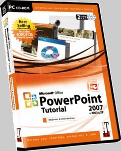 Microsoft Office Powerpoint Tutorial Software 2003 & 2007