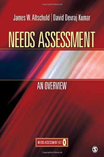 Needs Assessment: An Overview  (Book 1)