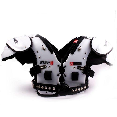 Football shoulder pads VISION II barnett, size 2XL, black