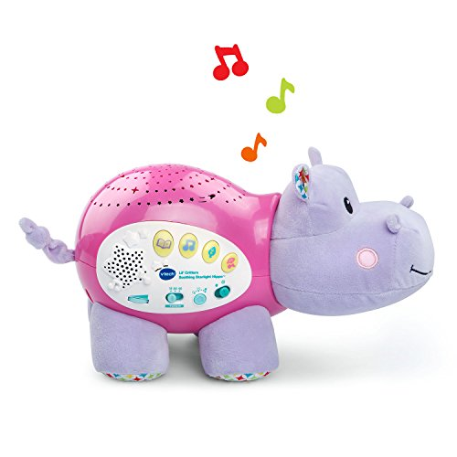 VTech Lil' Critters Soothing Starlight Hippo – Pink – Online Exclusive