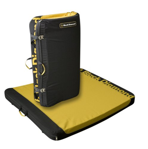 Black Diamond Satellite Crash Pad Mustard 35x41x3in