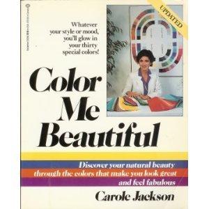 used gd color me beautiful by carole jackson - Color Me Beautiful Book