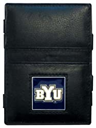 NCAA Brigham Young Cougars Leather Jacob's Ladder Wallet