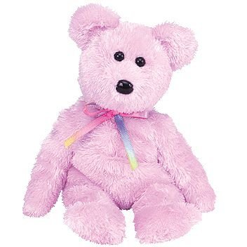 TY Beanie Baby - SHERBET the Bear (Purple Version)
