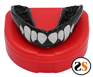 Custom MMA Fangs Mouthguard by SportingSmiles