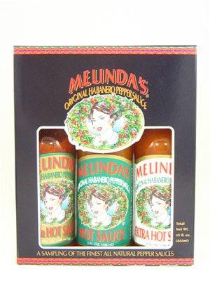 Melinda's Habanero Hot Sauce Gift Set, 15 fl