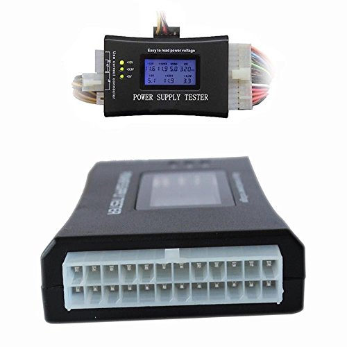 New Shop Digital Lcd 20/24 Pin Pc Computer Power Supply Tester 4 Sata Hd Hdd Atx Btx Itx