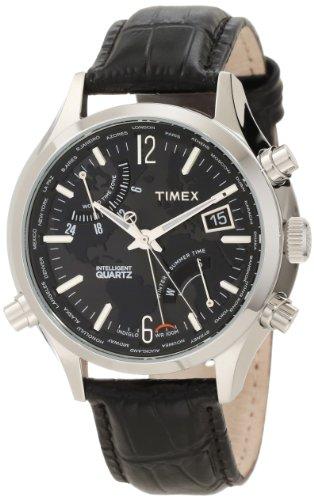 Timex Men'S T2N943Dh Intelligent Quartz World Time Watch front-847308
