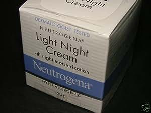 neutrogena light night cream mosisturiza 60g made in. Black Bedroom Furniture Sets. Home Design Ideas