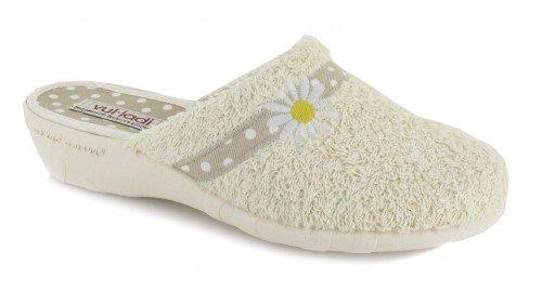 VUL-LADI, Pantofole donna Beige Beige