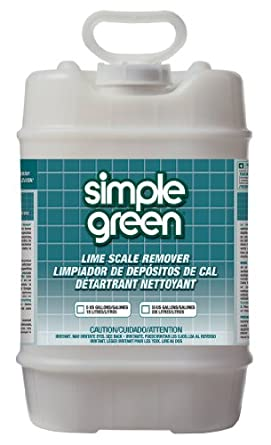 Simple Green 50005 Lime Scale Remover, 5 Gallon Pail