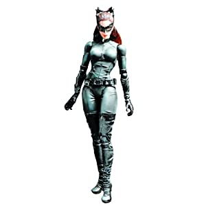 Batman Dark Knight Trilogy Play Arts Kai Catwoman Action Figure