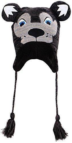 Simplicity Winter Animal Wolf Hats Headwear Adult